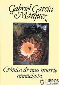 Libro Cronica de una muerte anunciada en PDF