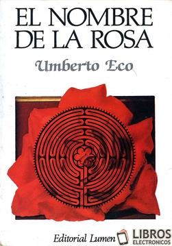 Libro El nombre de la rosa en PDF