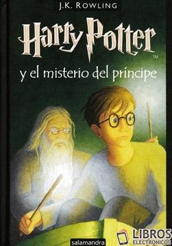 Libro de Harry Potter y el misterio del principe