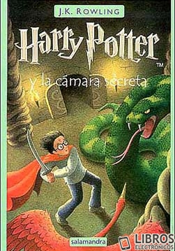 Libro de Harry Potter y la camara secreta