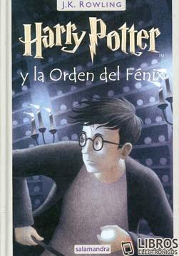 Libro de Harry Potter y la orden del fenix