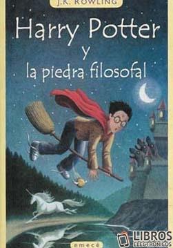 Libro de Harry Potter y la piedra filosfal