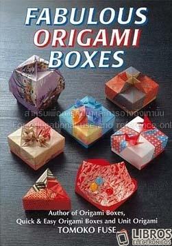 Libro de Origami boxes