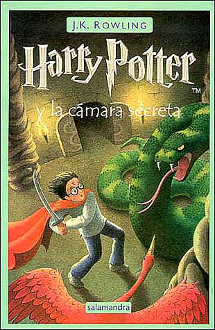 Libro Harry Potter y la camara secreta en pdf