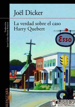 Libro La verdad sobre el caso Harry Quebert en PDF